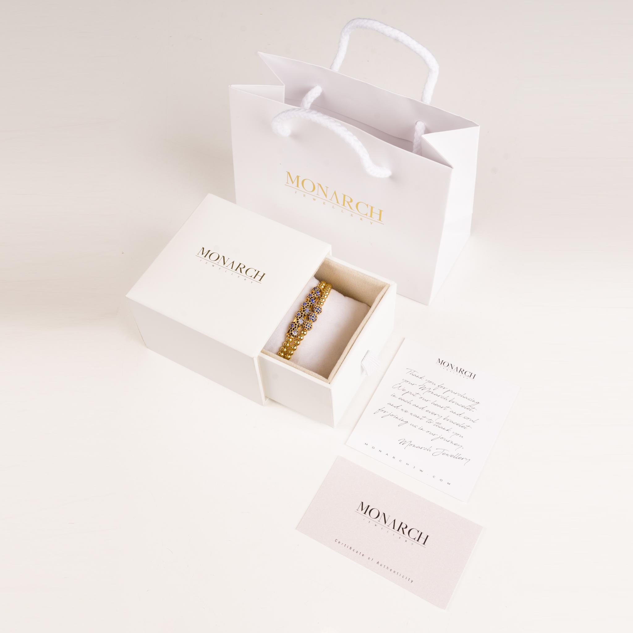 Monarch bijuterii Box WaxSeal de lux bratari