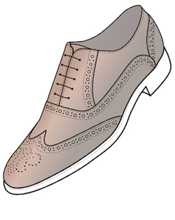 pantofi maro monarch jewellery