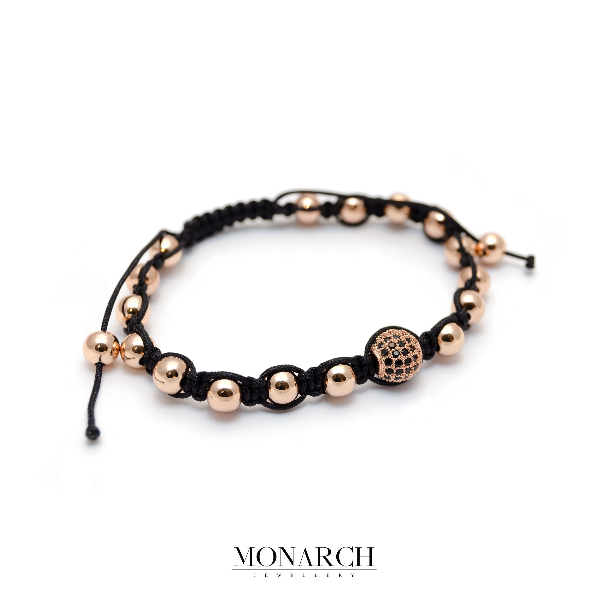 42-Monarch-Jewellery-Gold-Rose-Beads-Macrame-Bracelet-resized