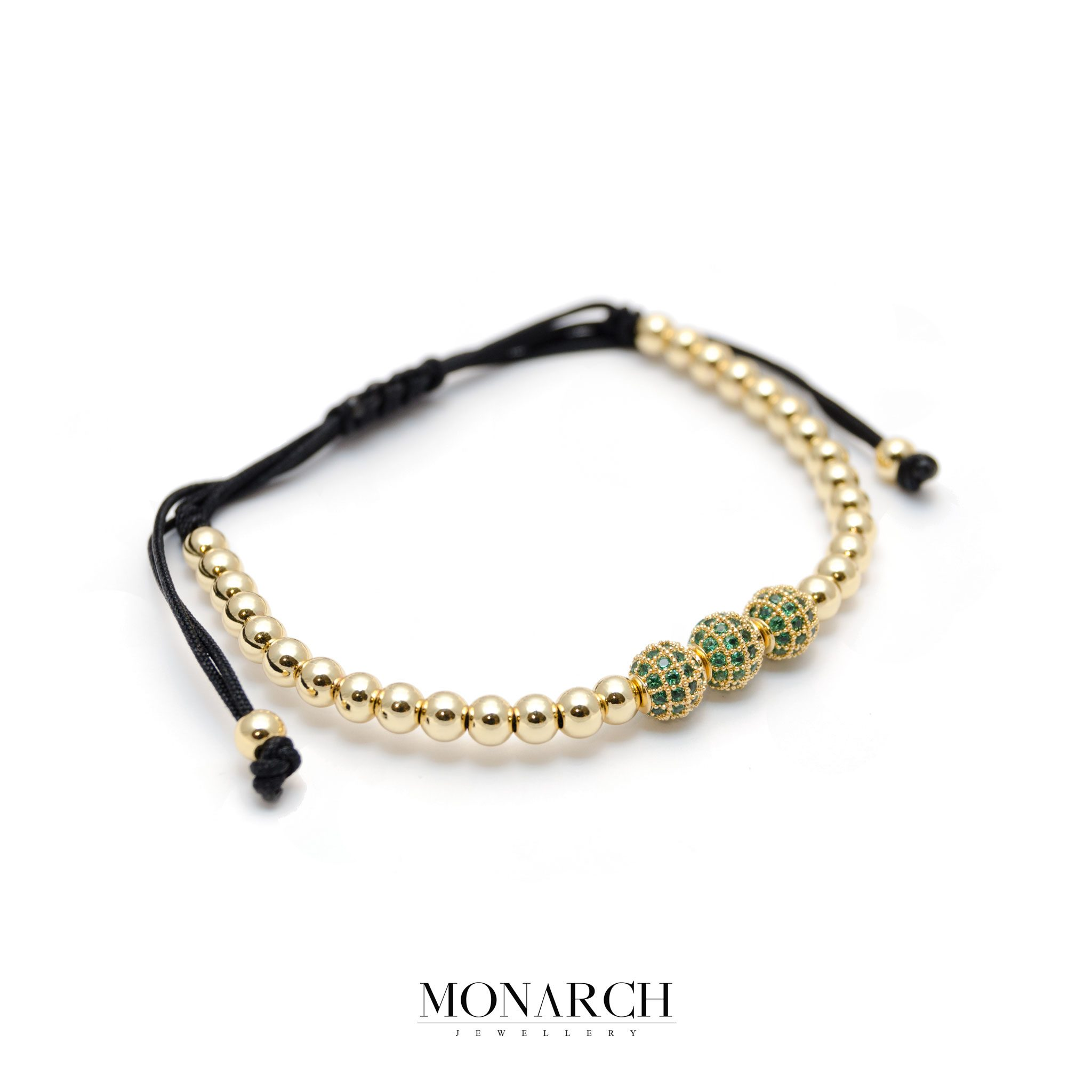 gold bracelet bar bracelets green shop emerald