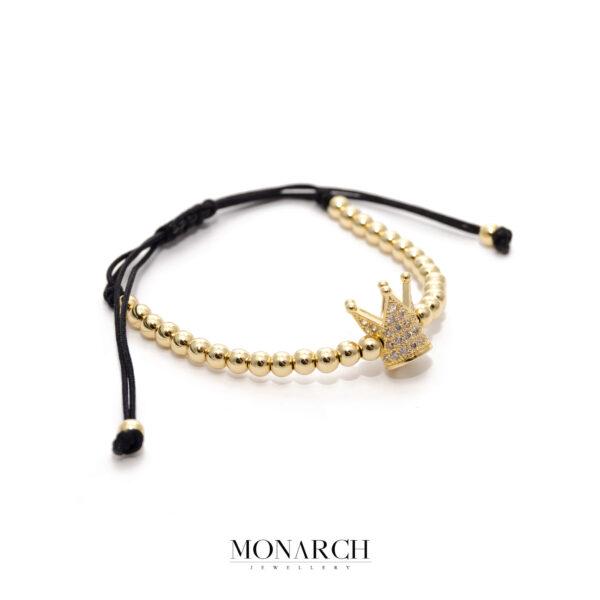 24K Gold Emperor Macrame Bracelet