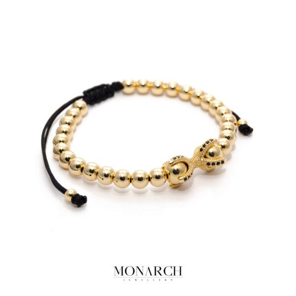 24K Gold Nodum Bracelet
