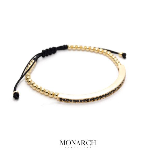 24K Gold Essence Macrame Bracelet