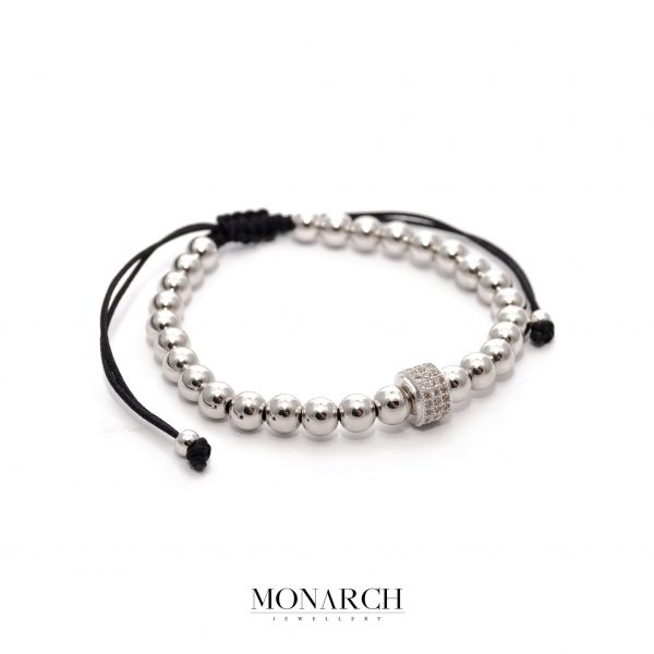 24K Argentum Solo Circum Macrame Bracelet