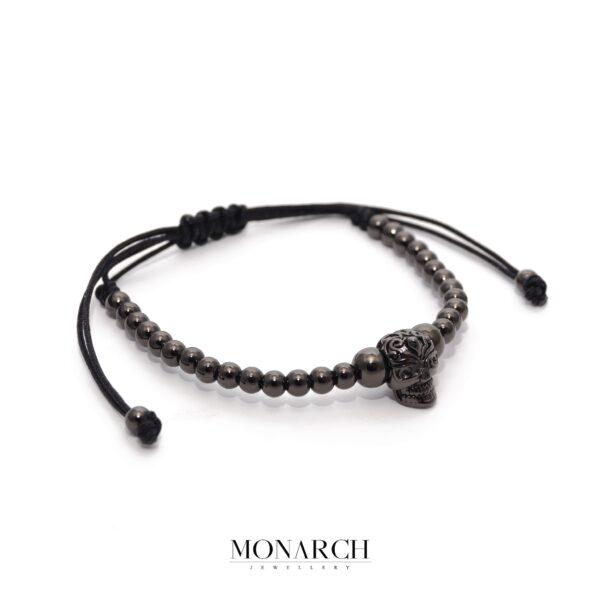 Nero Aztec Skull Bracelet