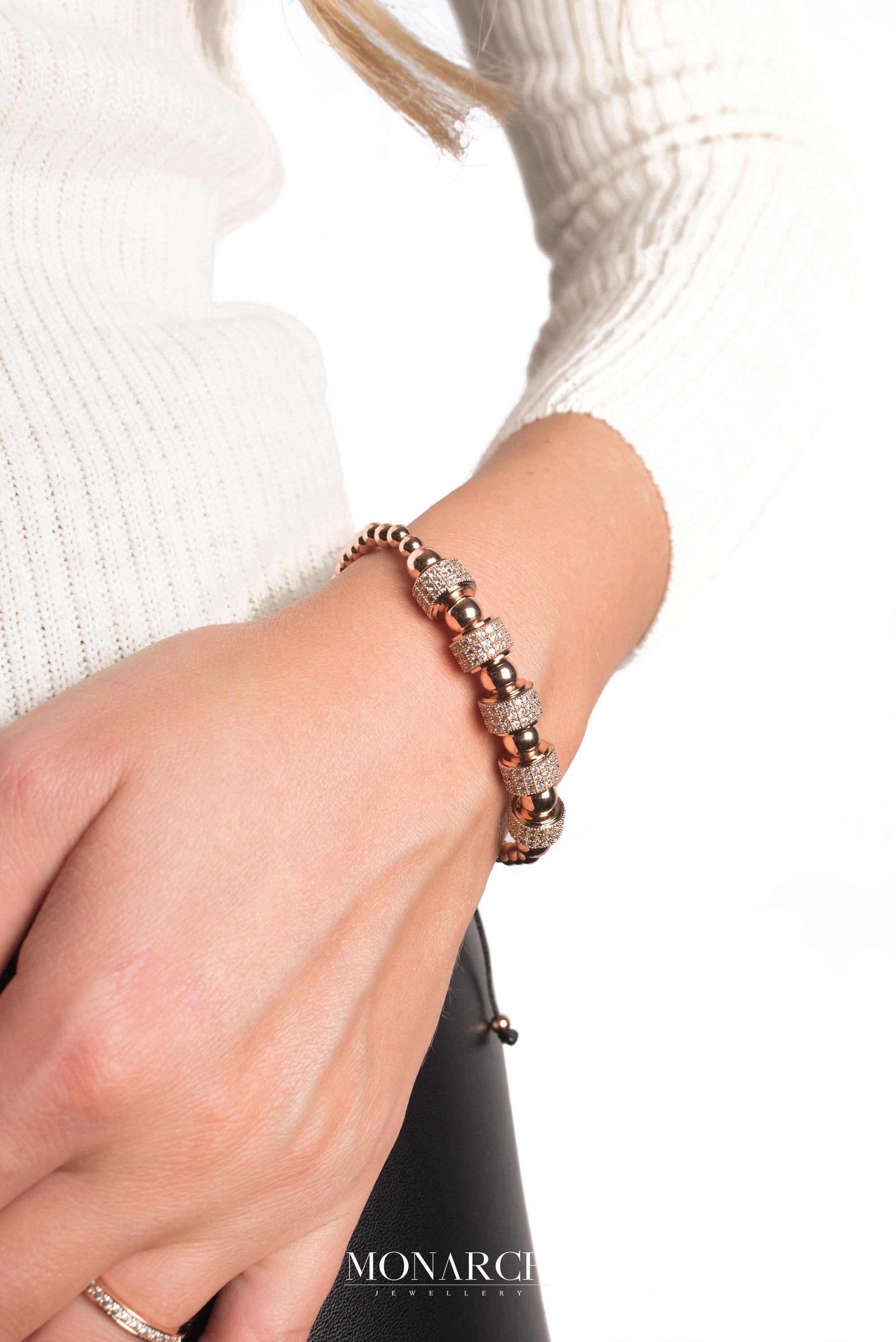 Monarch Jewellery Luxury Bracelet MA159RGP women