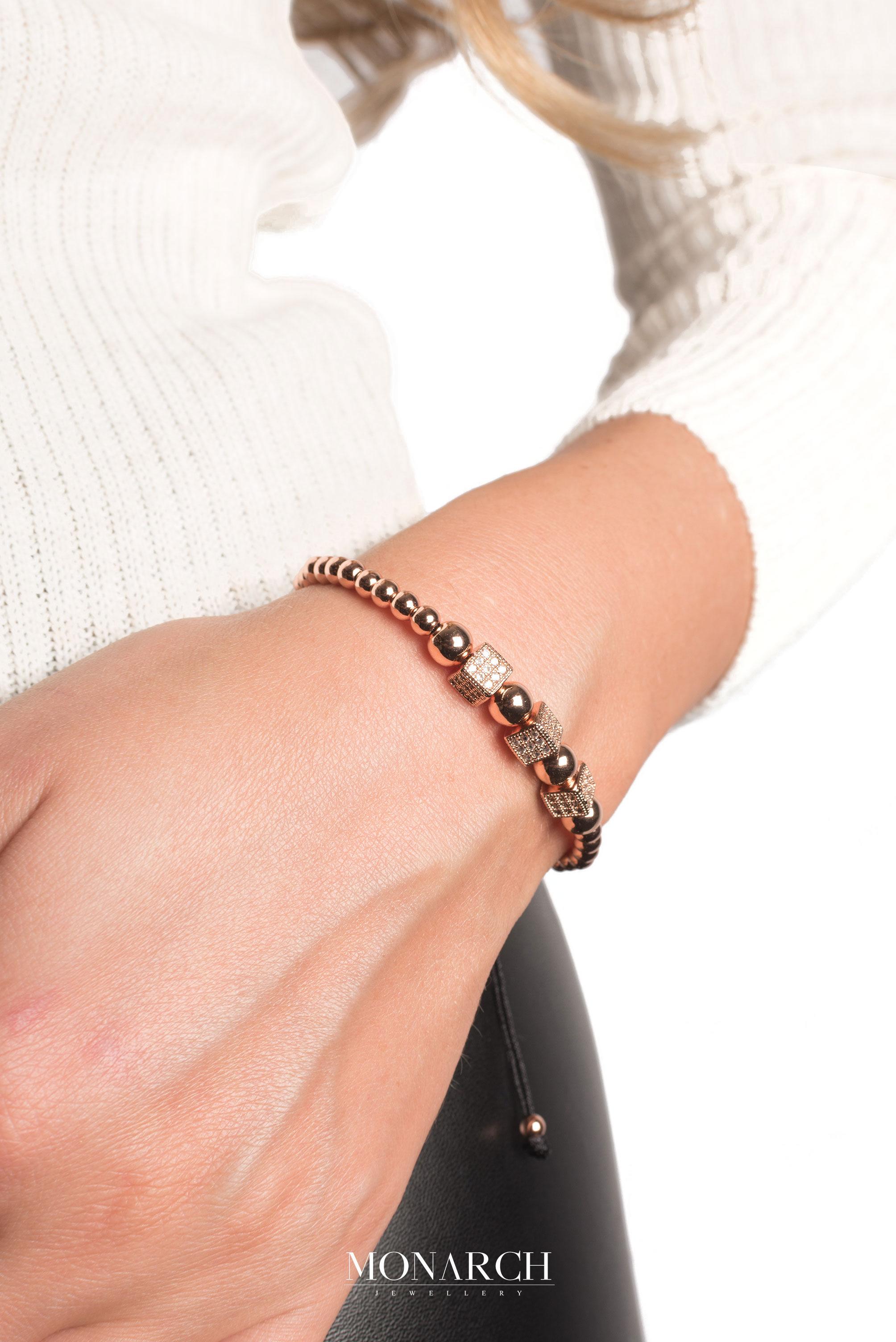 Monarch Jewellery Luxury Bracelet MA160RGT women