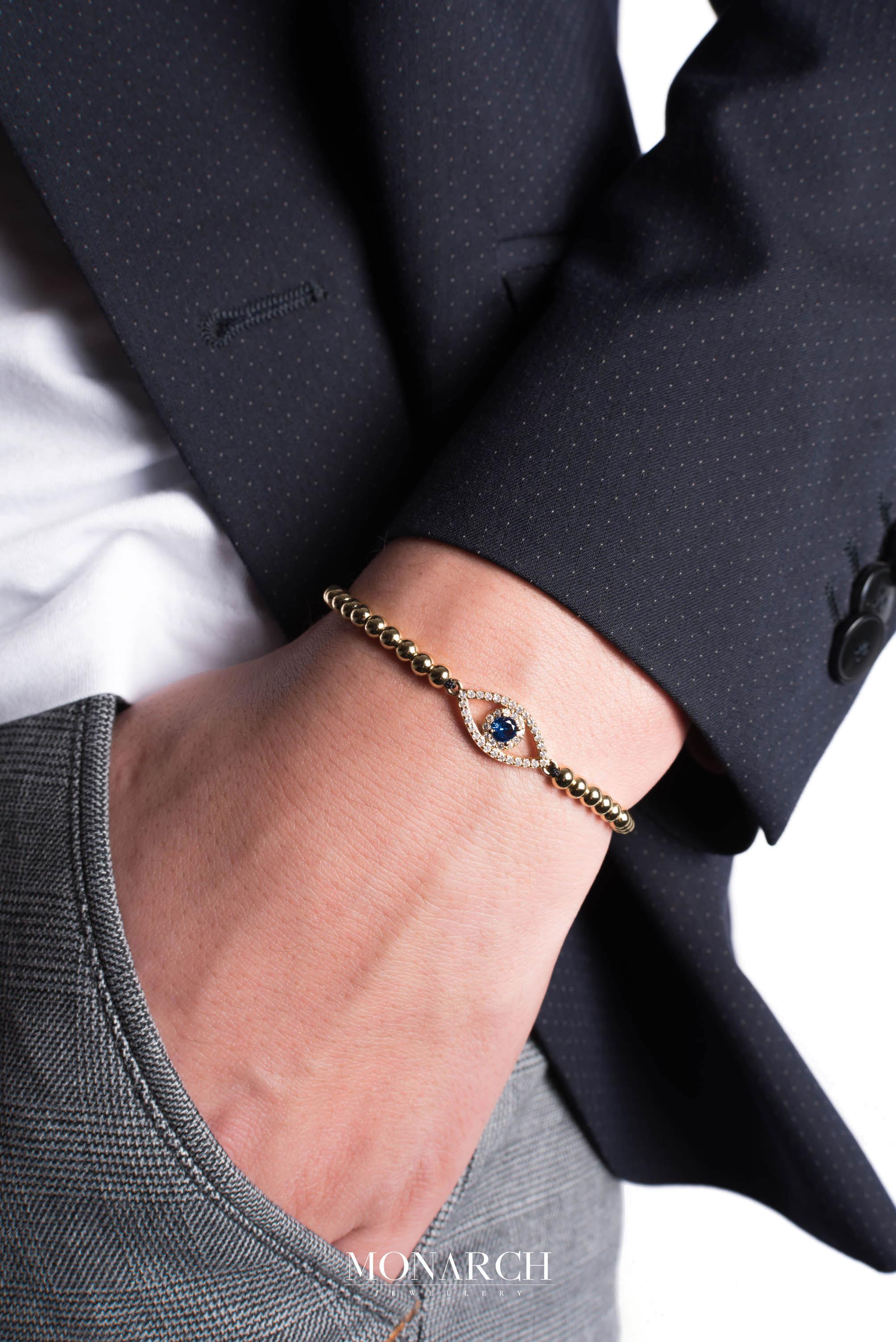 Monarch Jewellery Luxury Bracelet MA28GFEC men
