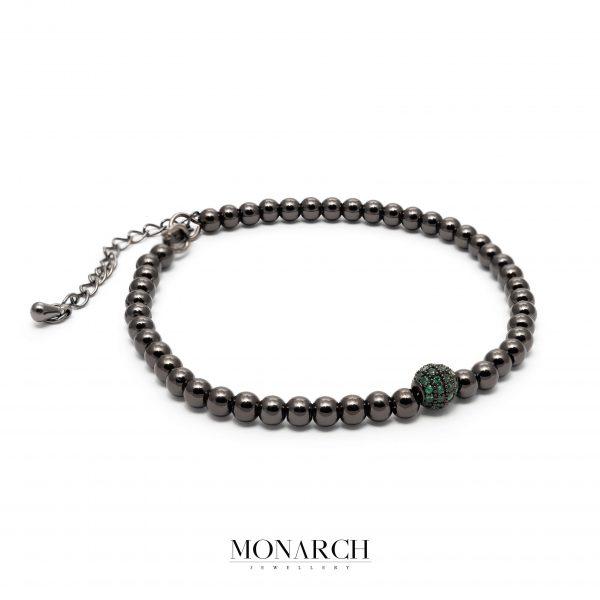 black luxury bracelet for man, monarch jewellery MA183BE