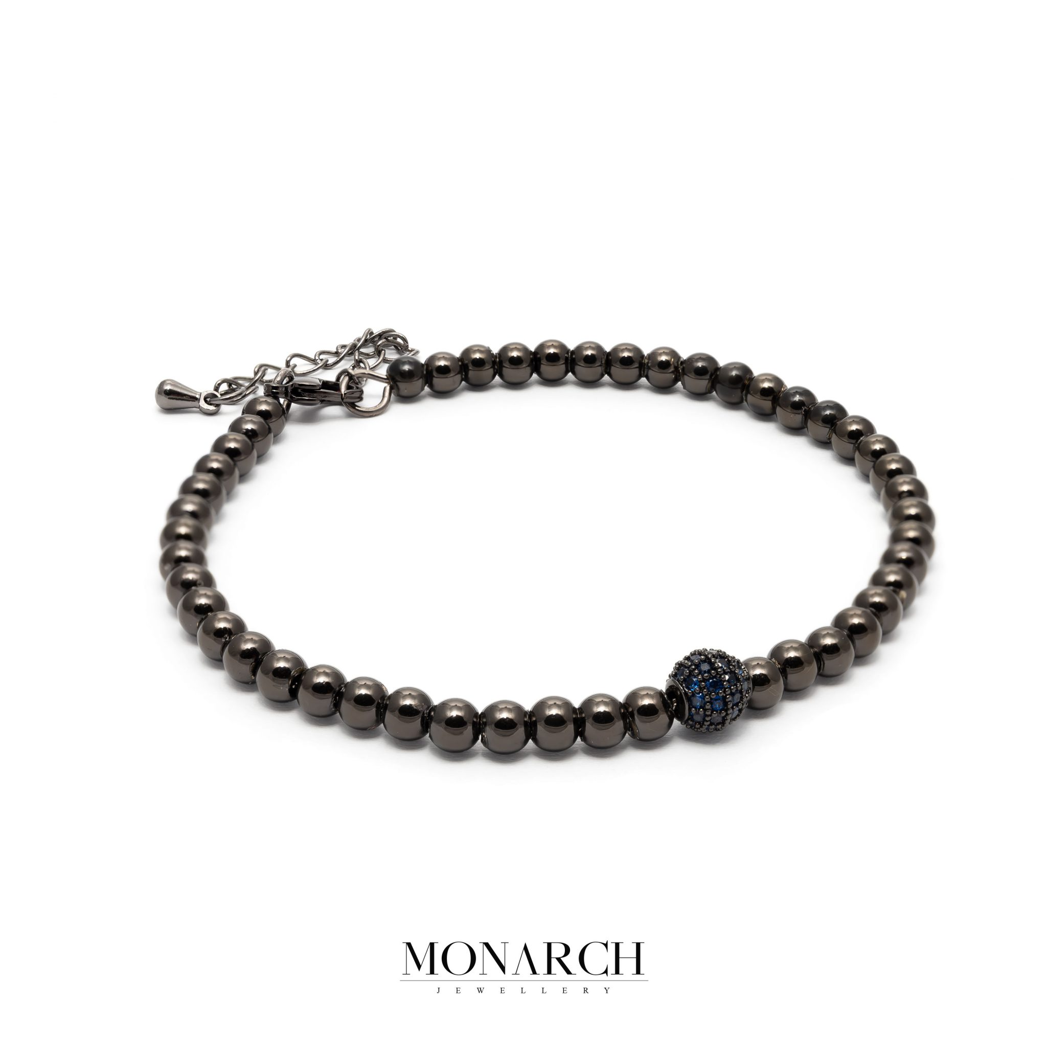 black luxury bracelet for man, monarch jewellery MA184BA