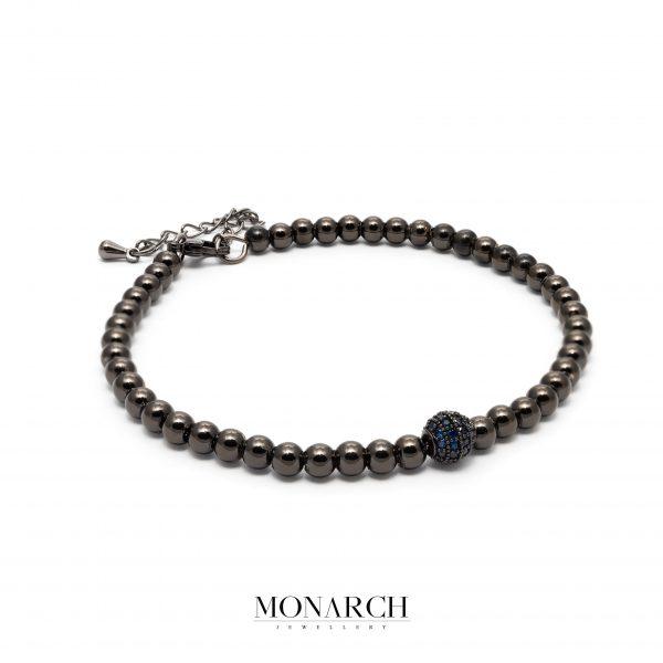black luxury bracelet for man, monarch jewellery MA184BA