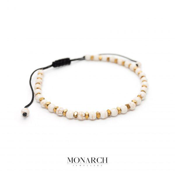 Gold luxury bracelet for man, monarch jewellery MA165GP