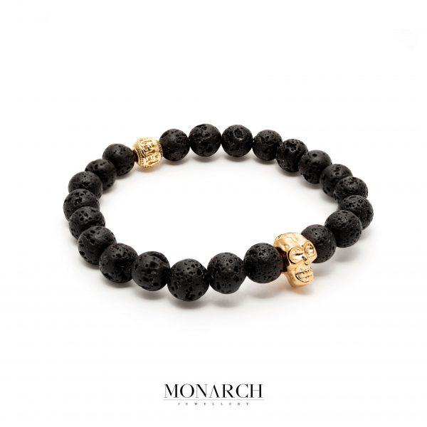 gold luxury bracelet for man, monarch jewellery MA178GS