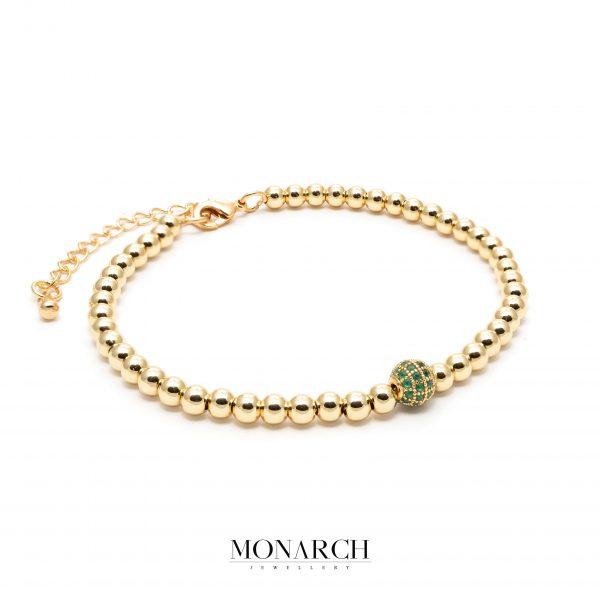 gold luxury bracelet for man, monarch jewellery MA180GE