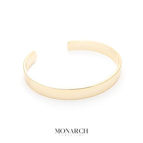 gold luxury bracelet for man, monarch jewellery MA192GS
