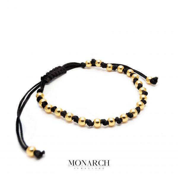 gold luxury bracelet for man, monarch jewellery MA197GP