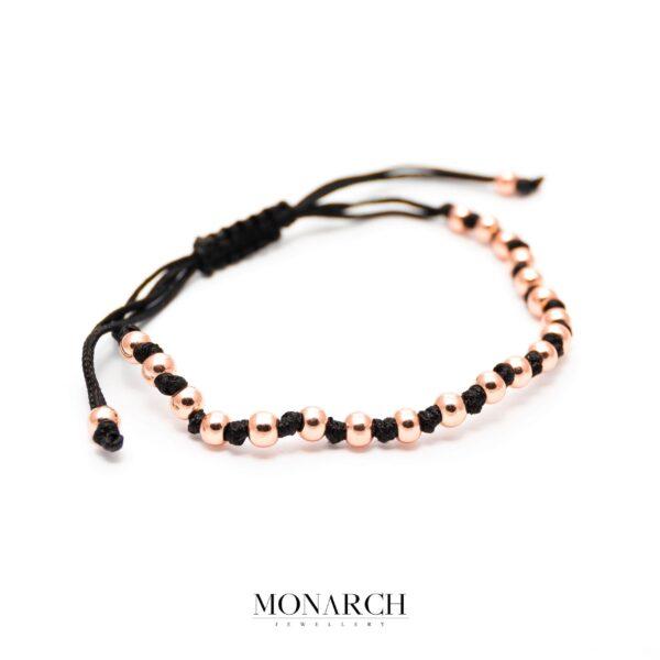 gold rose luxury bracelet for man, monarch jewellery MA198GR