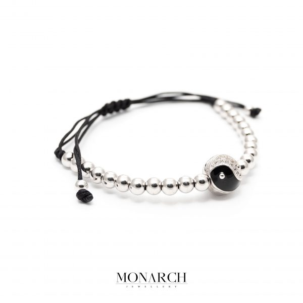 silver luxury bracelet for man, monarch jewellery MA193SY