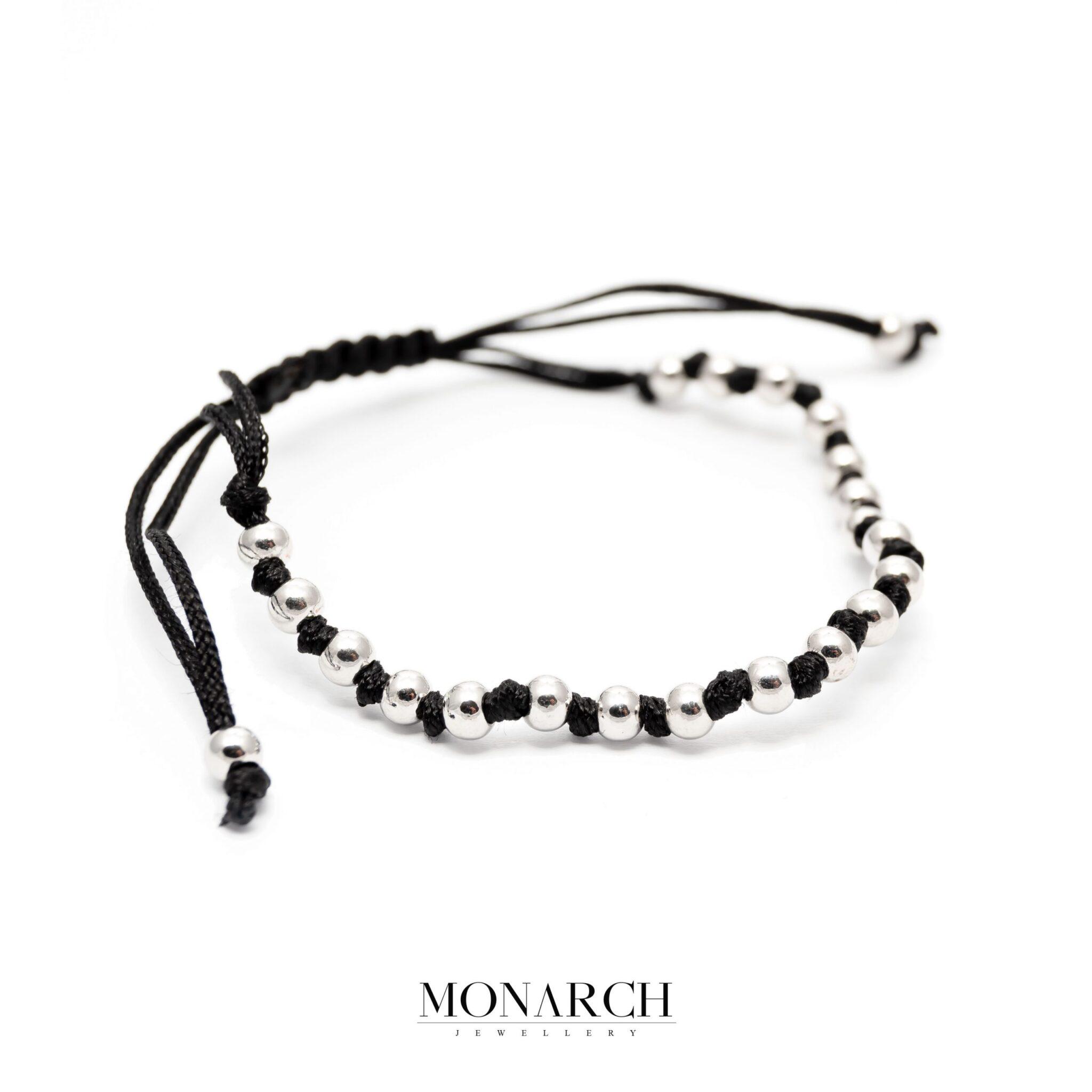 silver luxury bracelet for man, monarch jewellery MA199SP